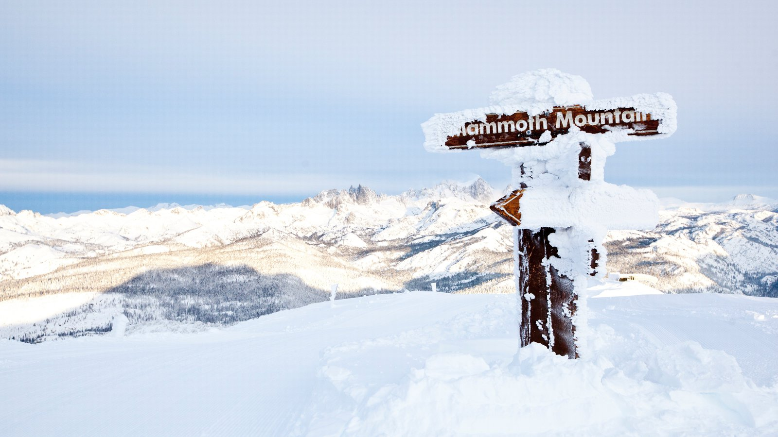 landscape pictures: view images of mammoth mountain ski resort