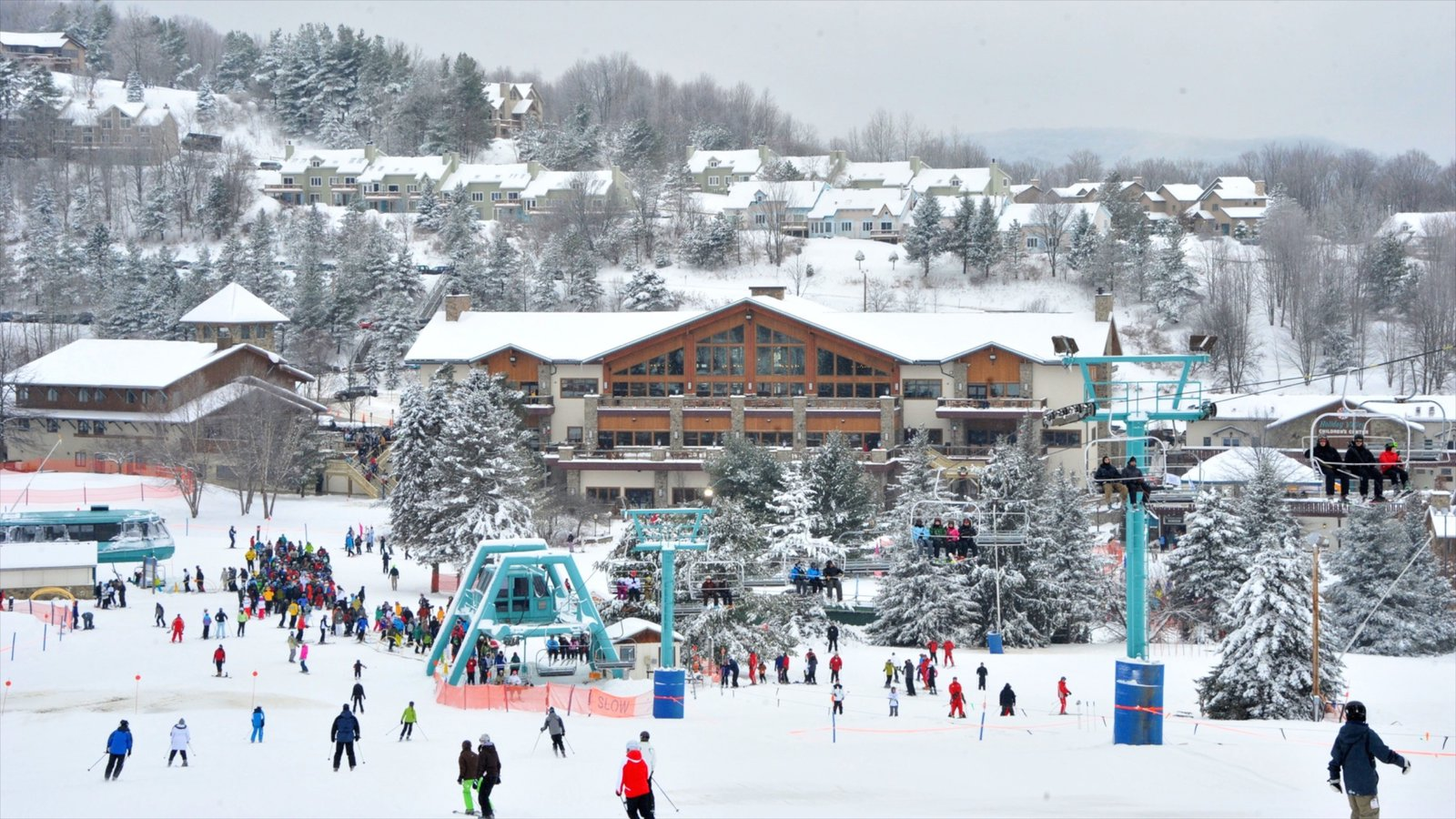 winter pictures: view images of holiday valley resort