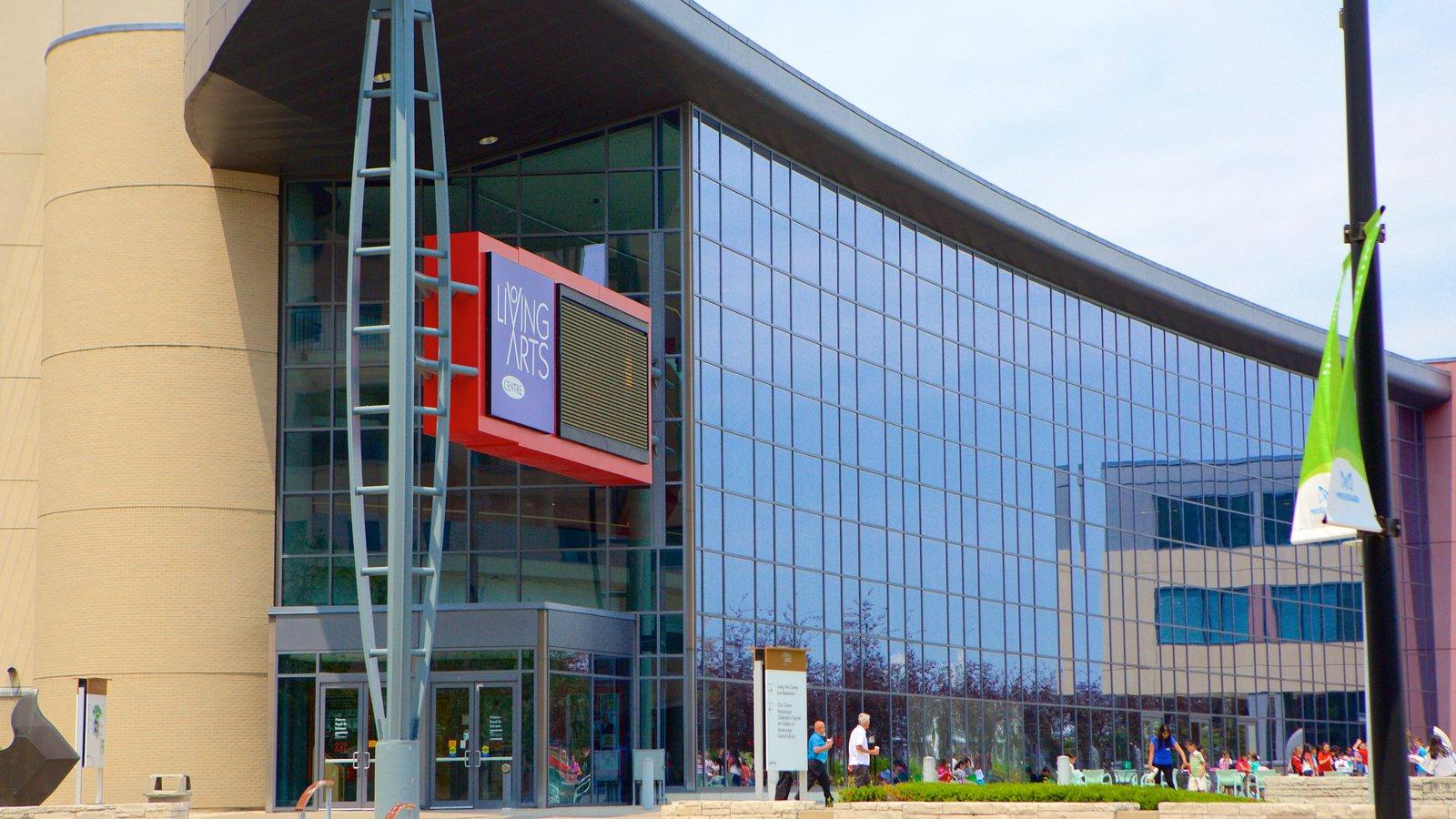 Living Arts Centre mostrando arquitetura moderna
