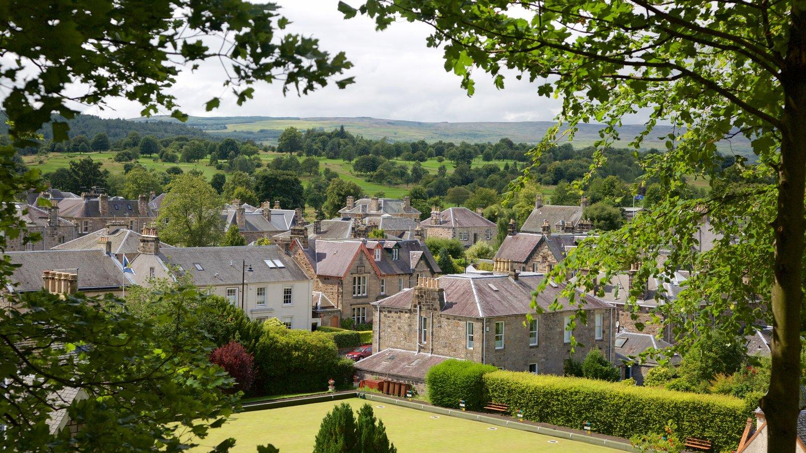 Stirling caracterizando uma cidade pequena ou vila