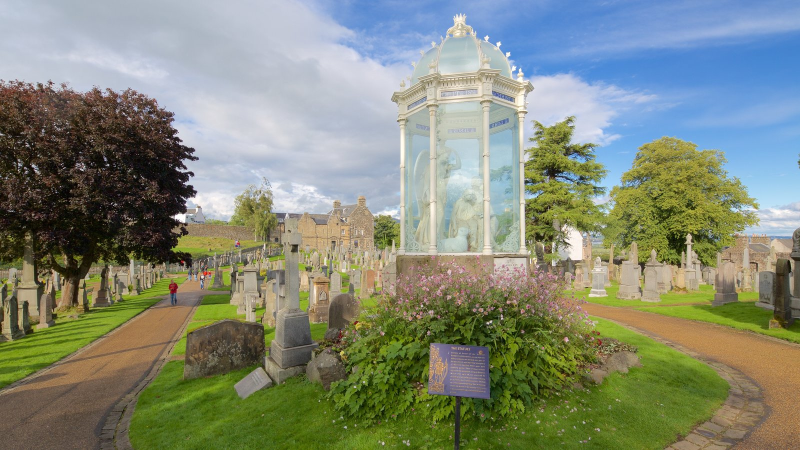 Stirling which includes a cemetery