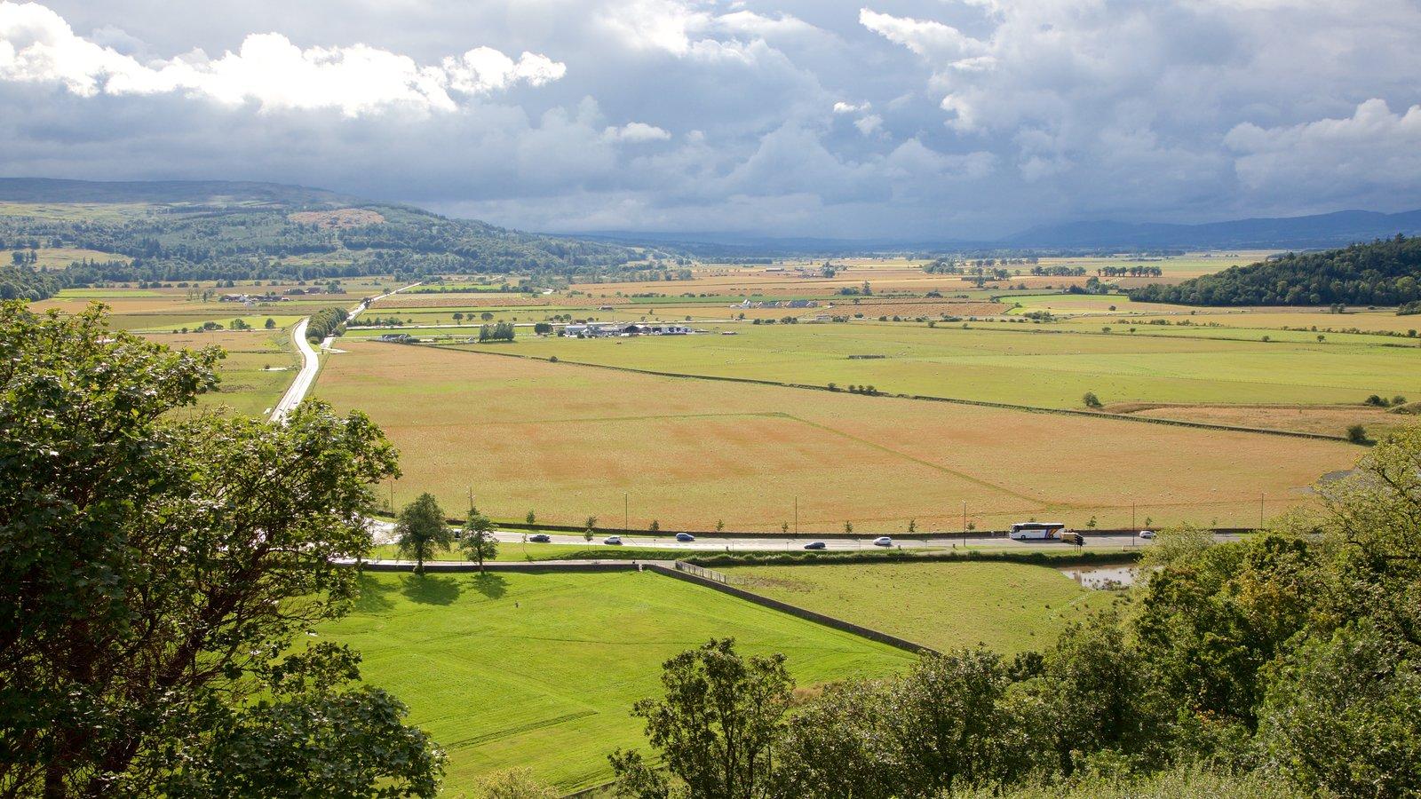 Stirling showing farmland