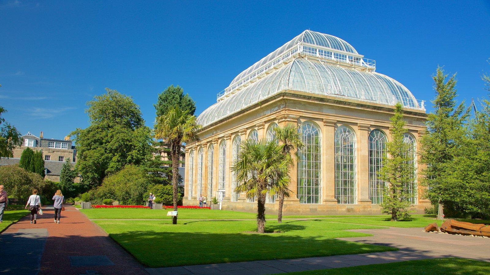 Royal Botanic Garden mostrando um parque e elementos de patrimônio