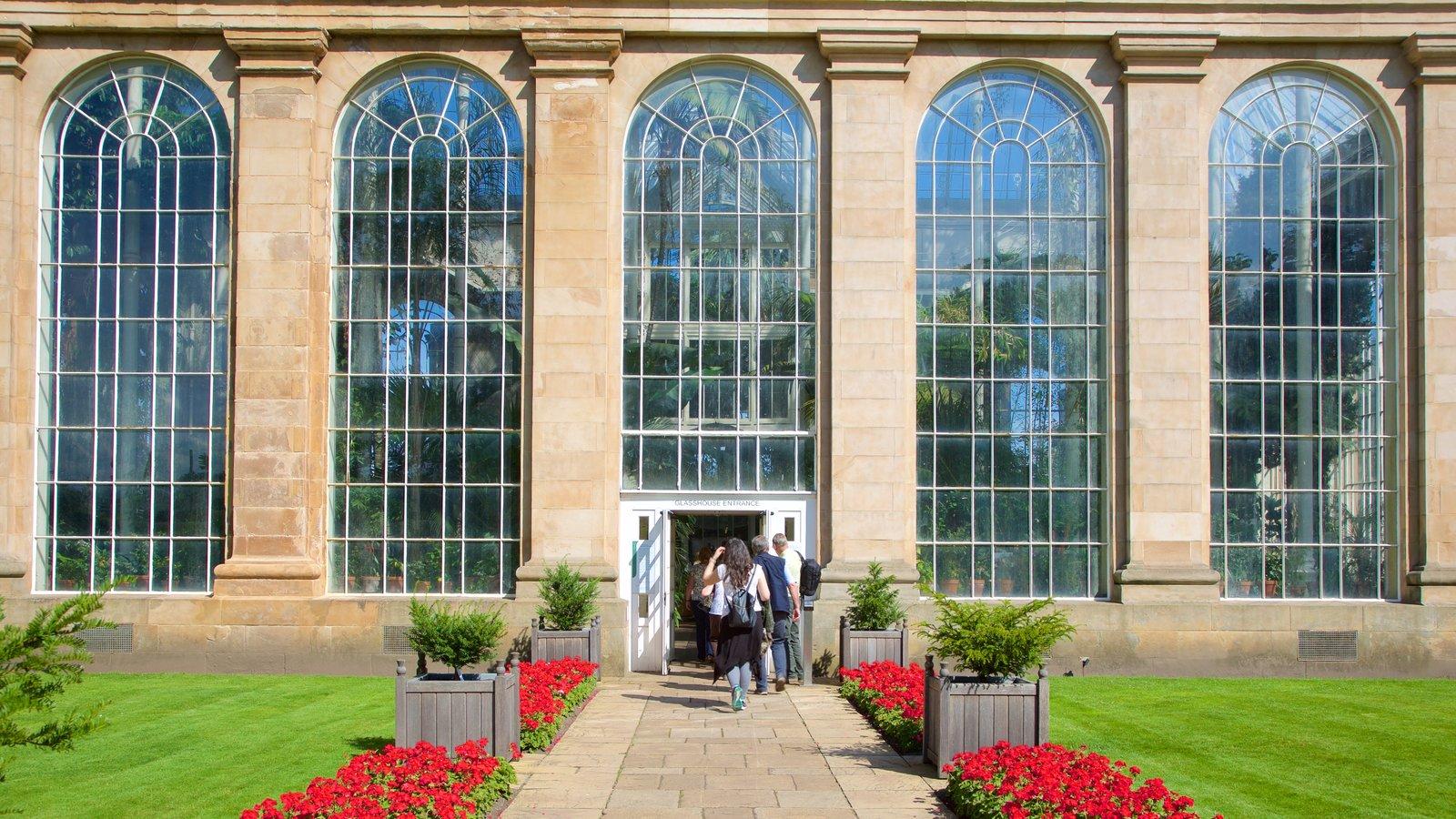 Royal Botanic Garden caracterizando elementos de patrimônio e cenas de rua
