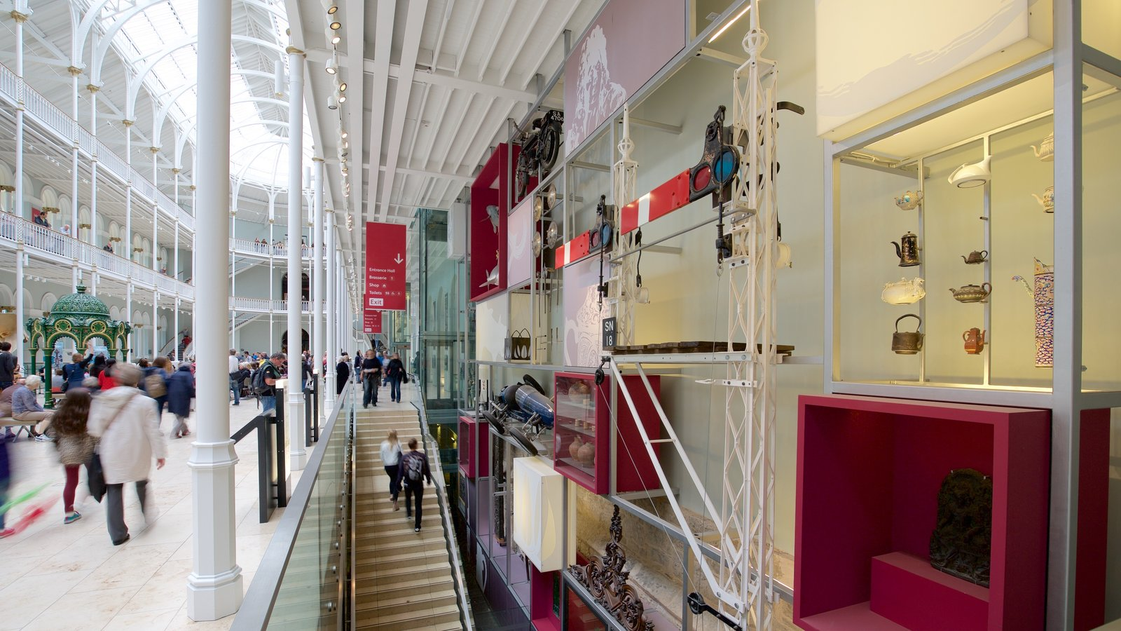 National Museum of Scotland which includes interior views