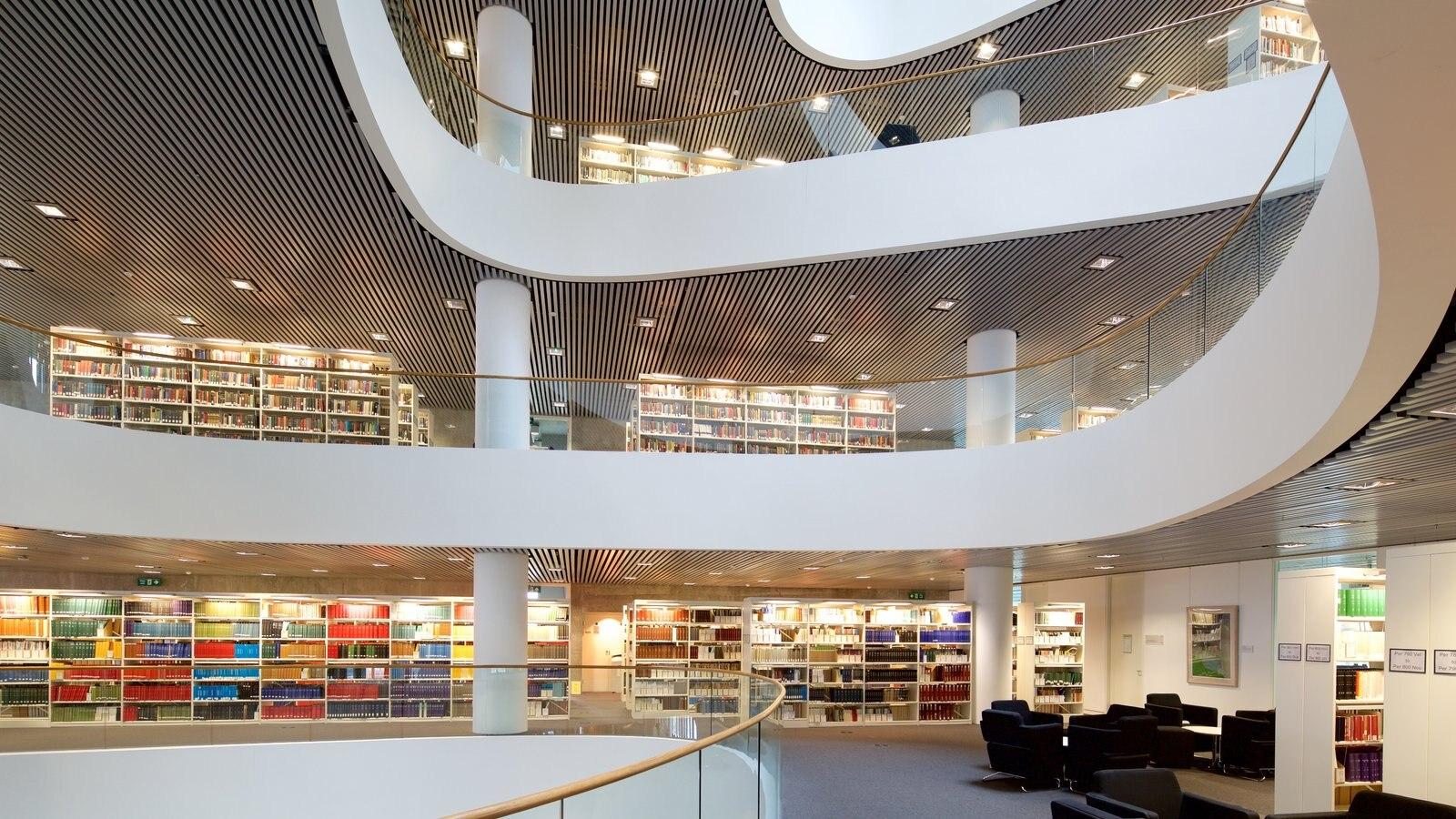 Aberdeen mostrando vistas interiores y arquitectura moderna
