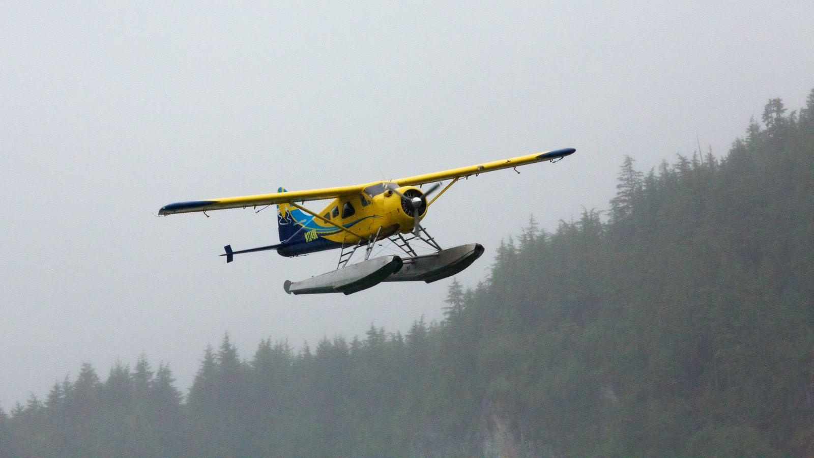 Ketchikan featuring aircraft and an aircraft