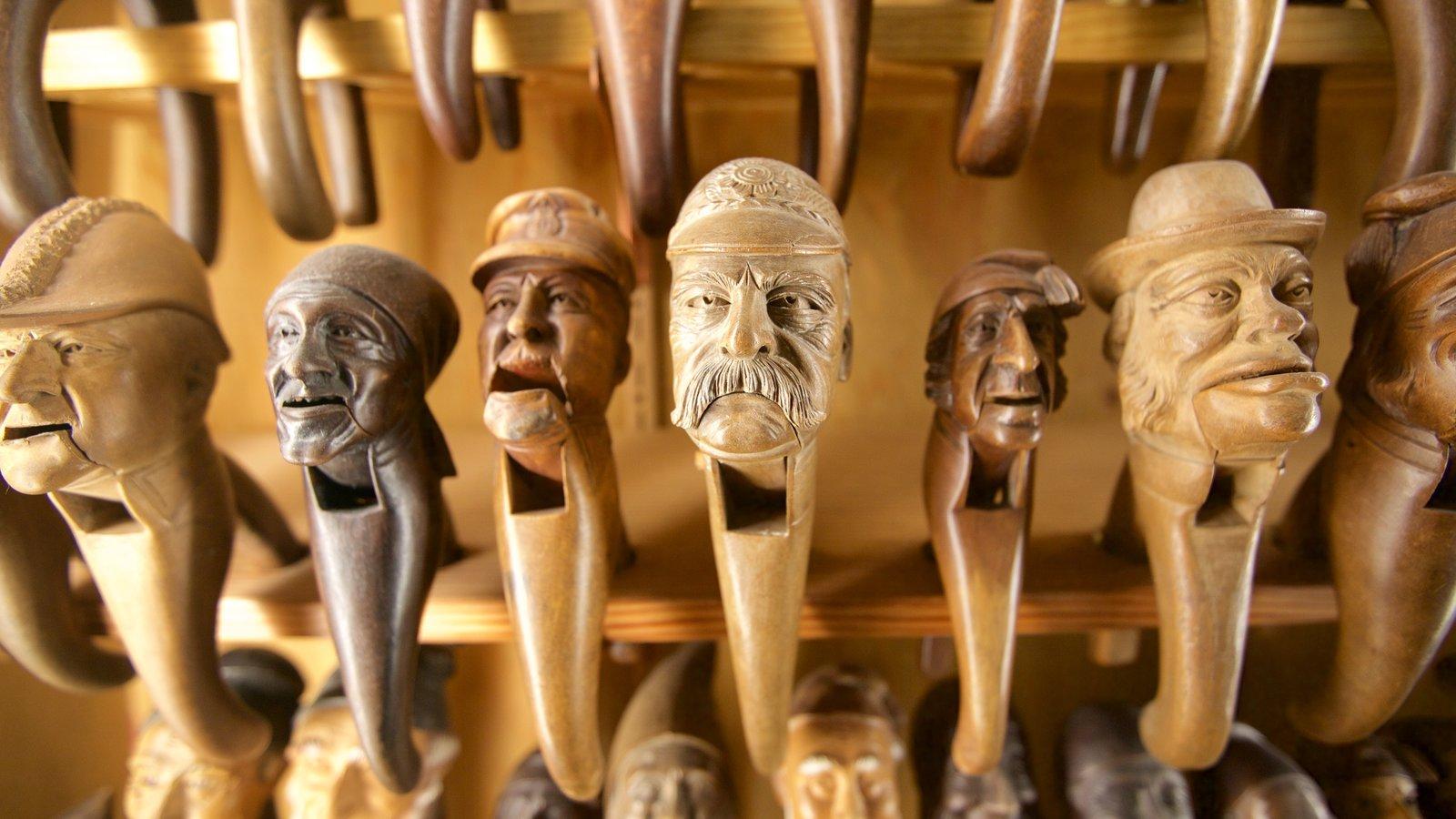 Leavenworth Nutcracker Museum que inclui compras e vistas internas