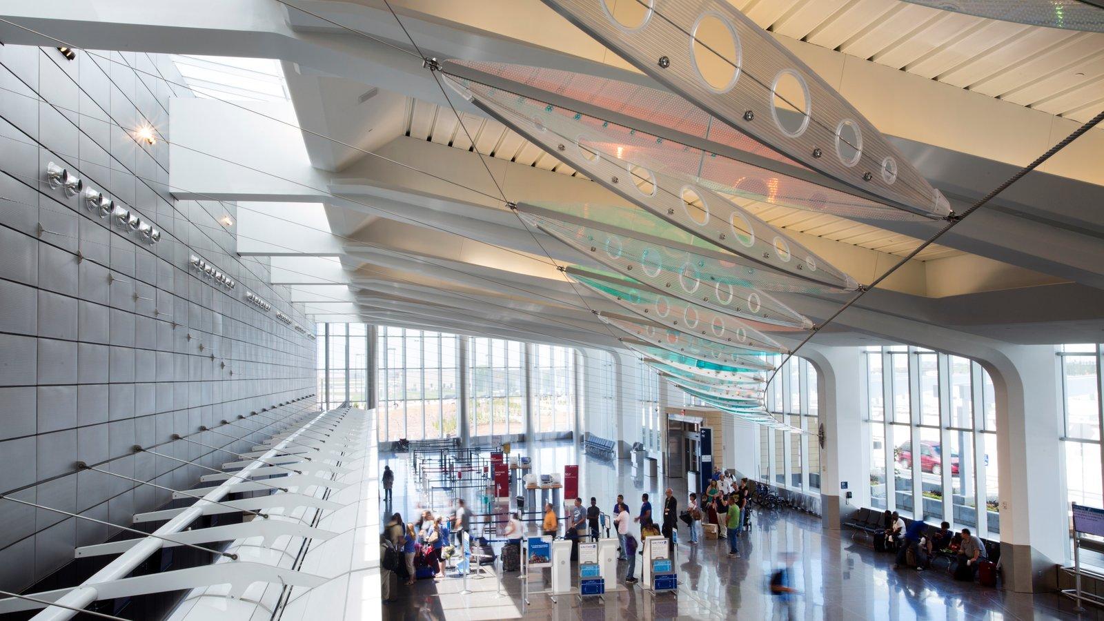Wichita caracterizando vistas internas e arquitetura moderna