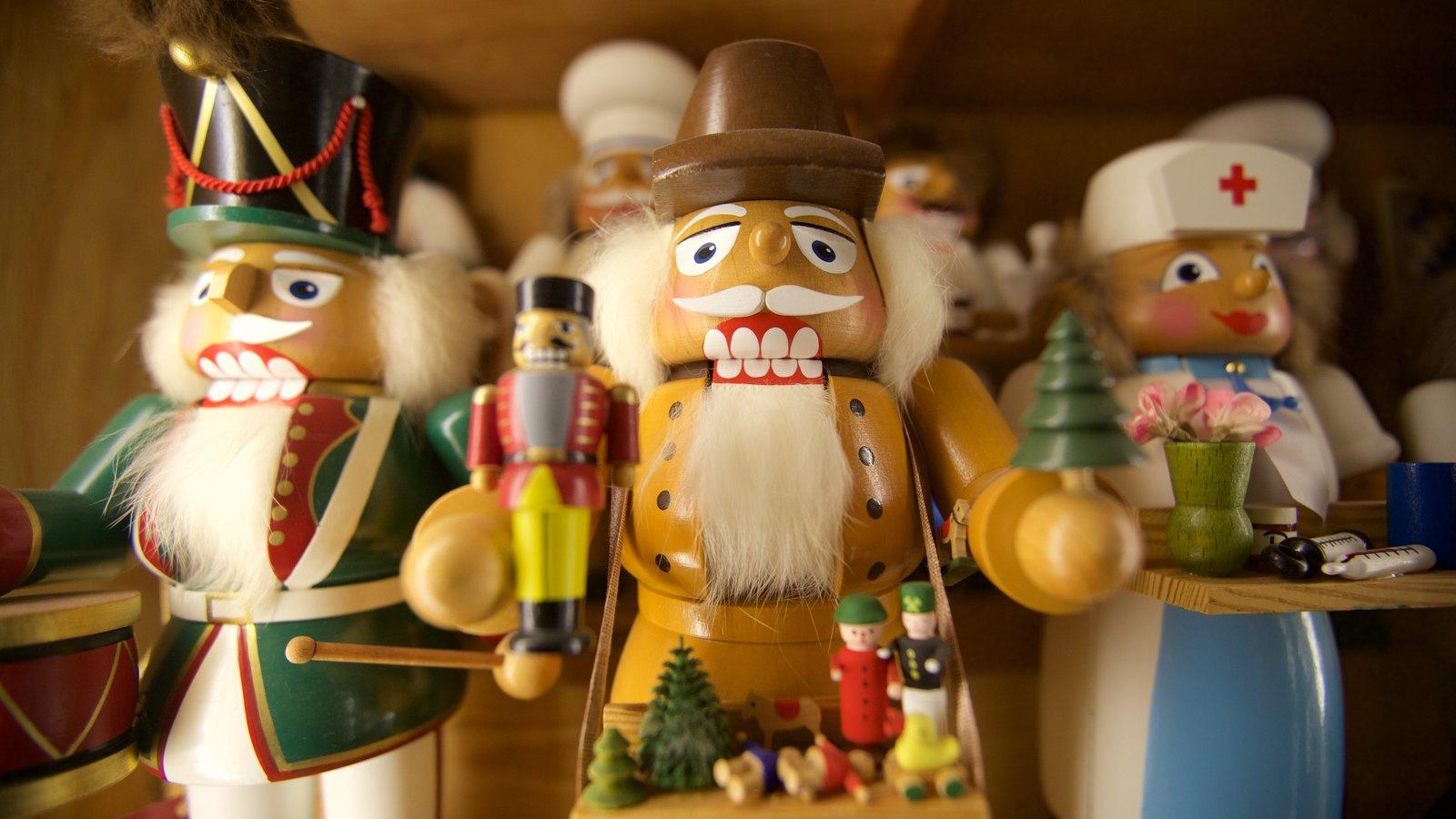 Leavenworth Nutcracker Museum mostrando vistas internas
