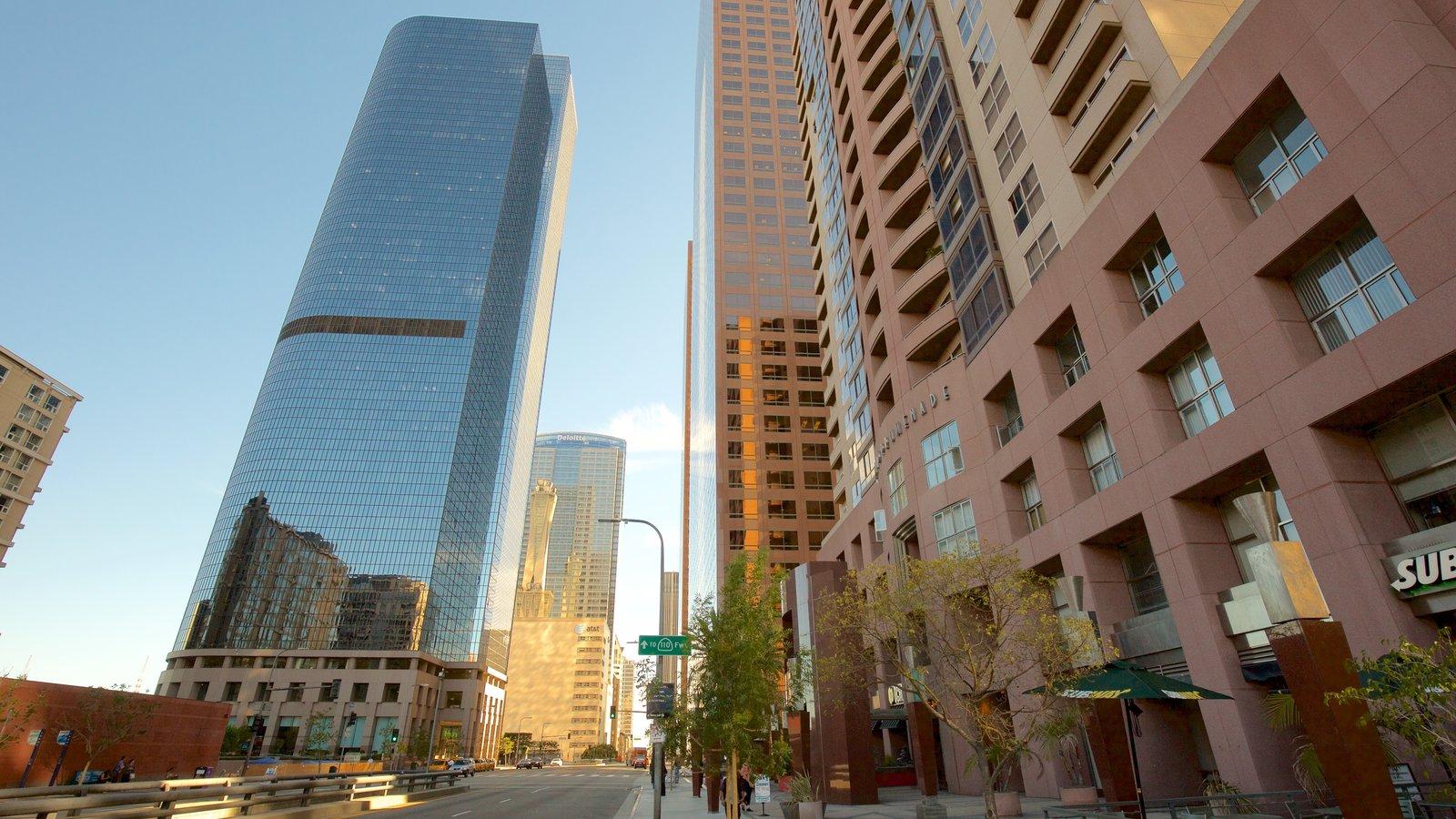 Centro de Los Ángeles que incluye una ciudad