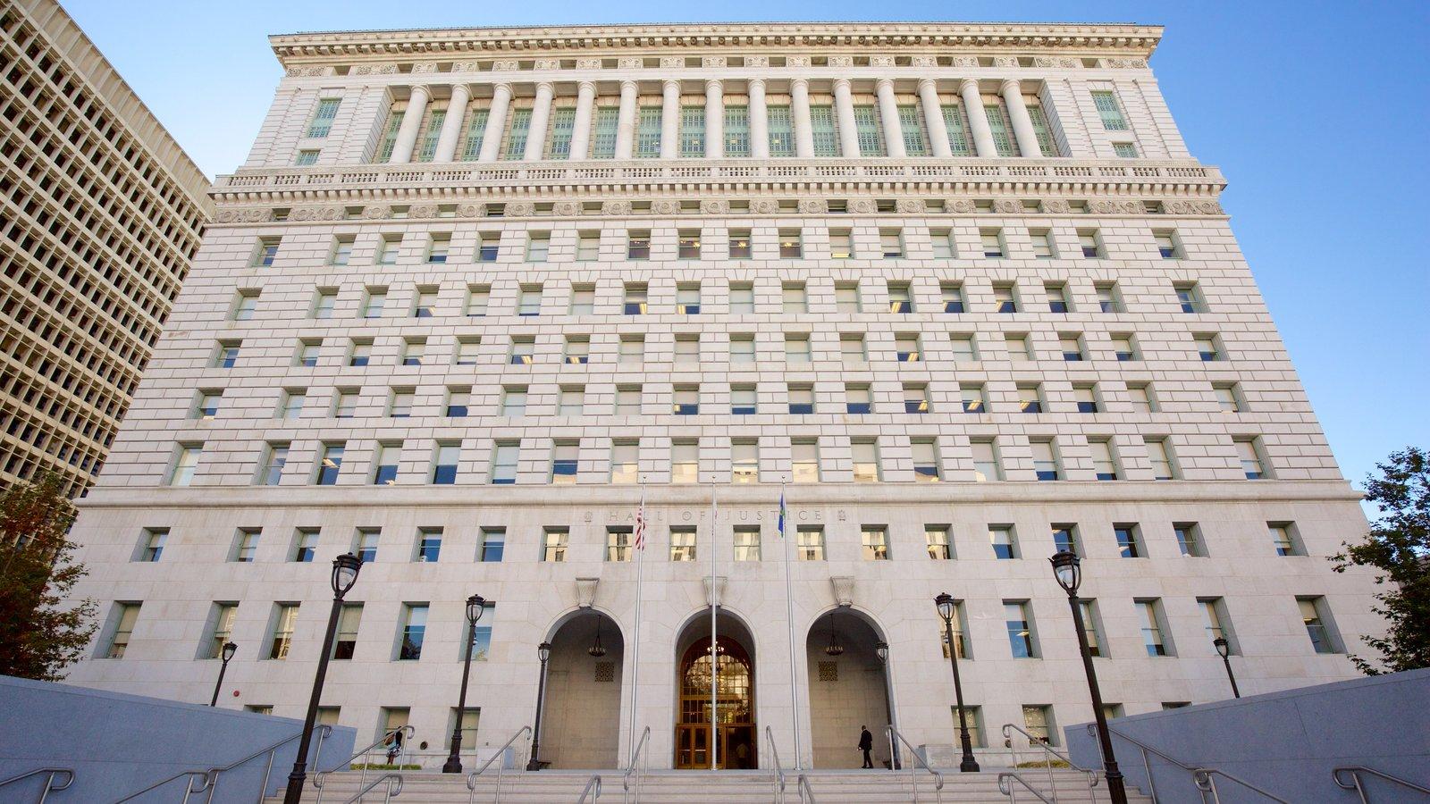 Centro de Los Ángeles que incluye un edificio administrativo