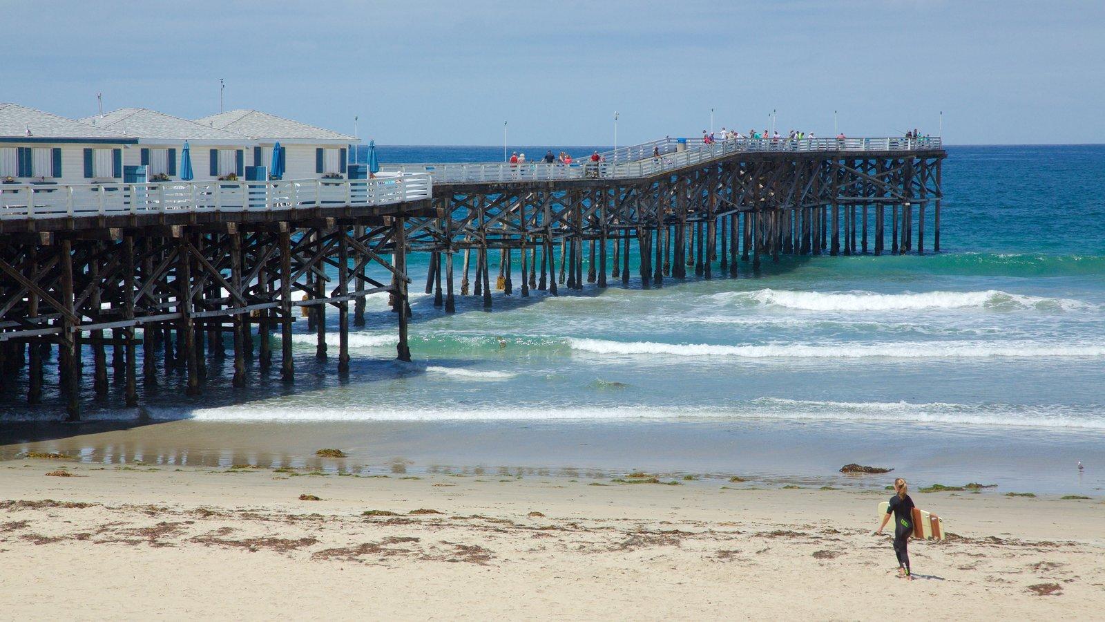 Pacific Beach Park que inclui uma praia de areia