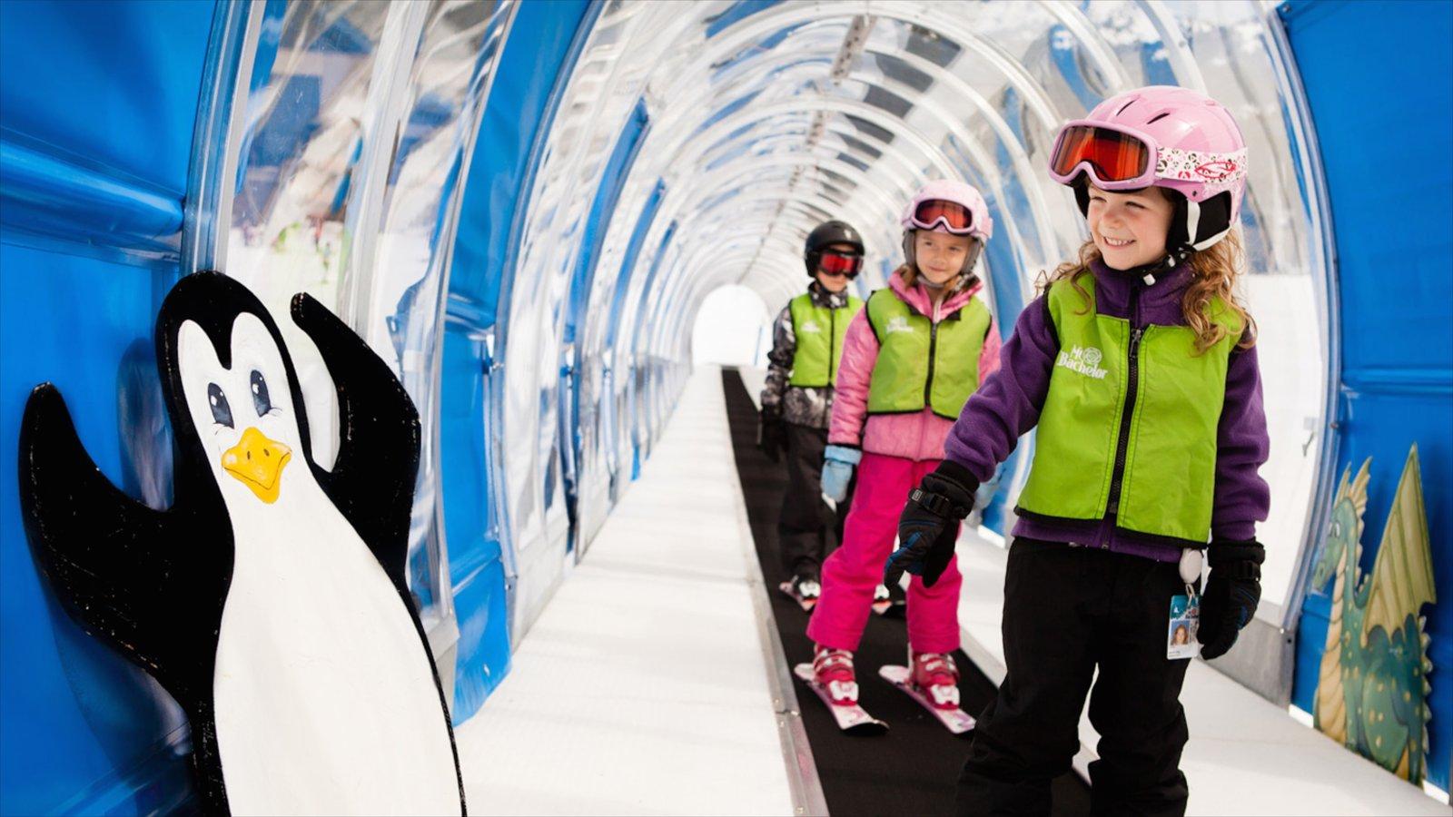 Mt Bachelor Ski Resort y también niños