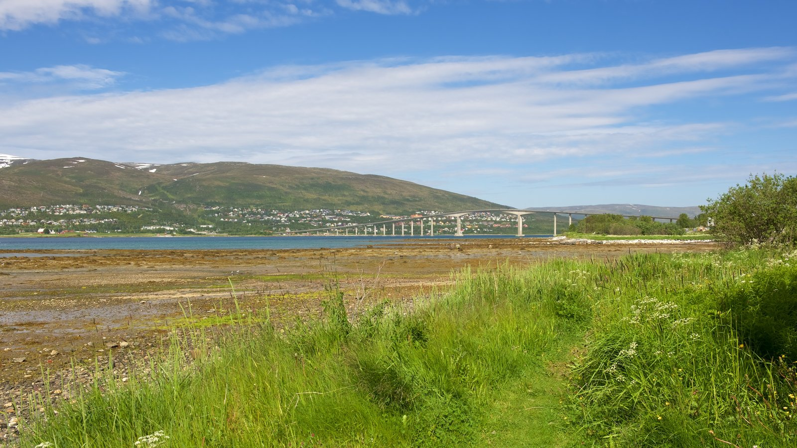 Tromso caracterizando paisagem
