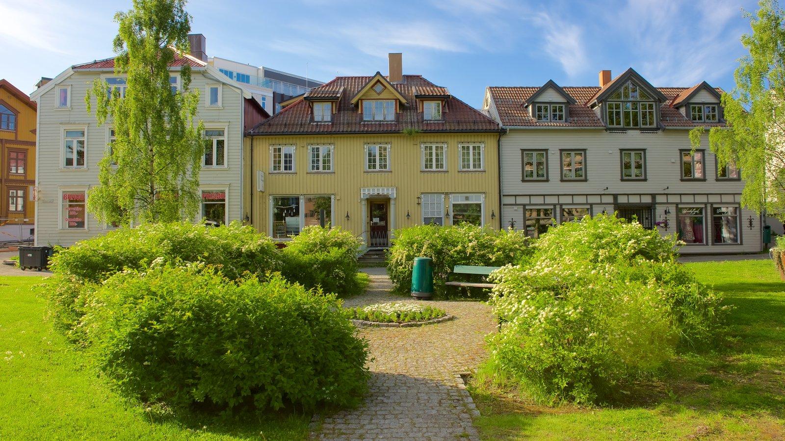 Tromso que inclui um jardim e uma casa