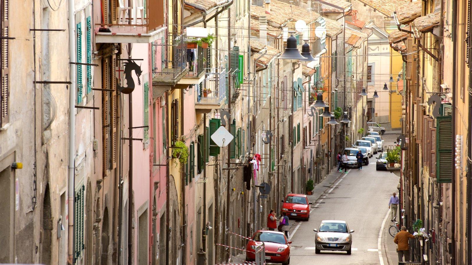 Soriano nel Cimino caracterizando arquitetura de patrimônio