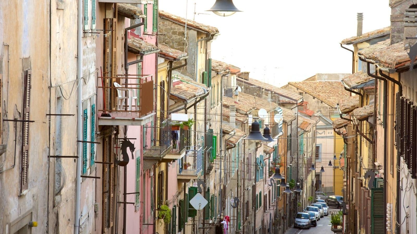 Soriano nel Cimino que inclui arquitetura de patrimônio