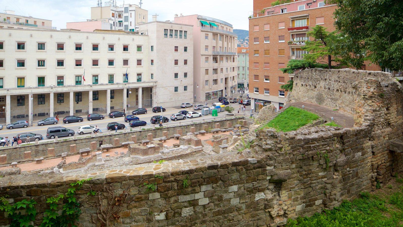 Roman Theatre which includes a ruin