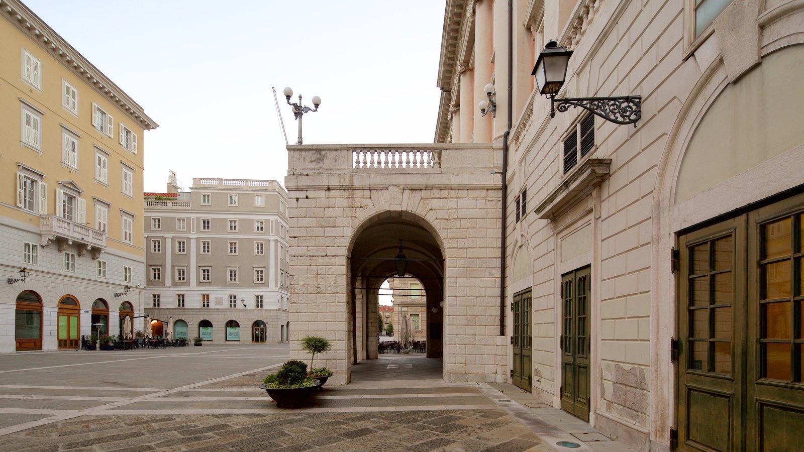 Teatro Lirico Giuseppe Verdi which includes heritage architecture