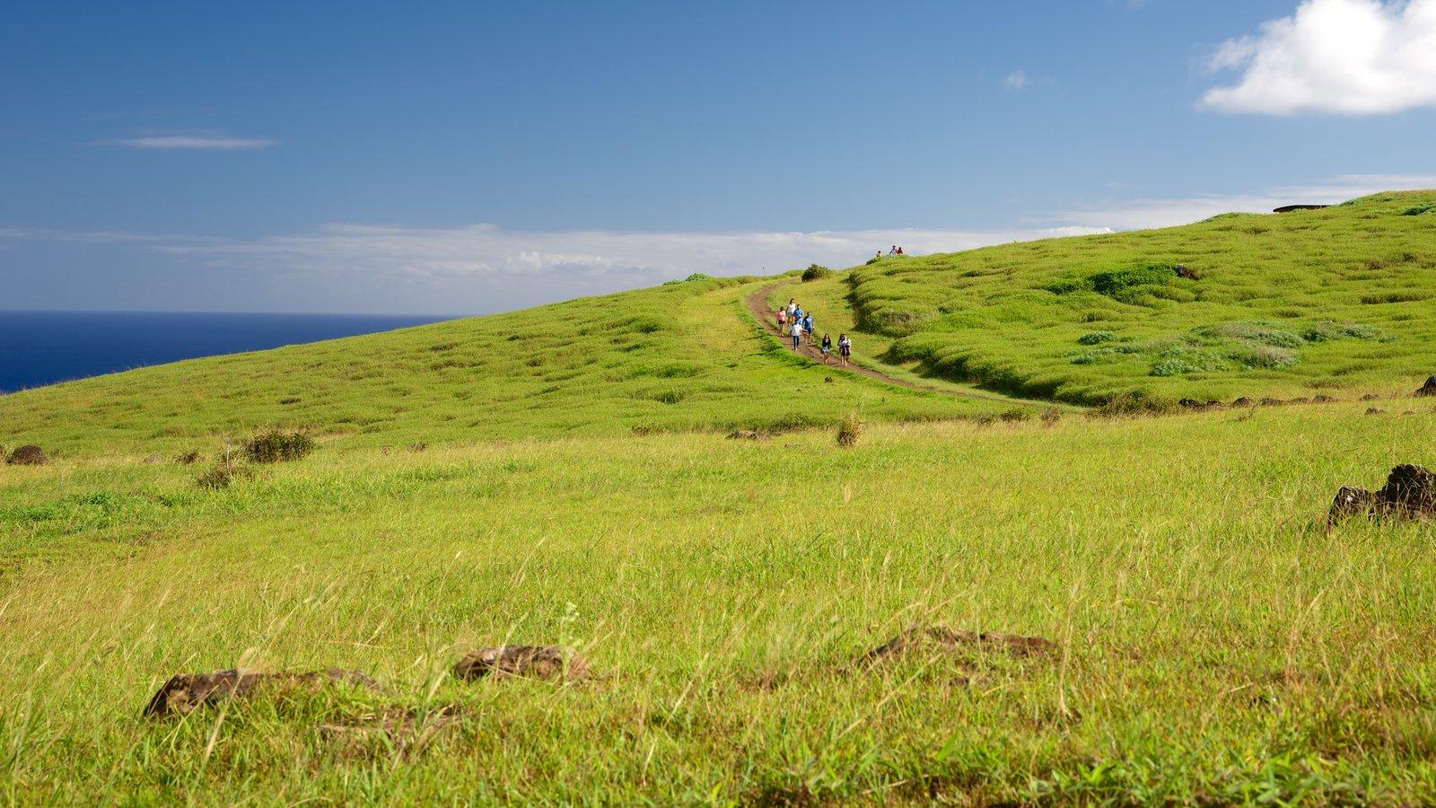 Isla de Pascua ofreciendo escenas tranquilas