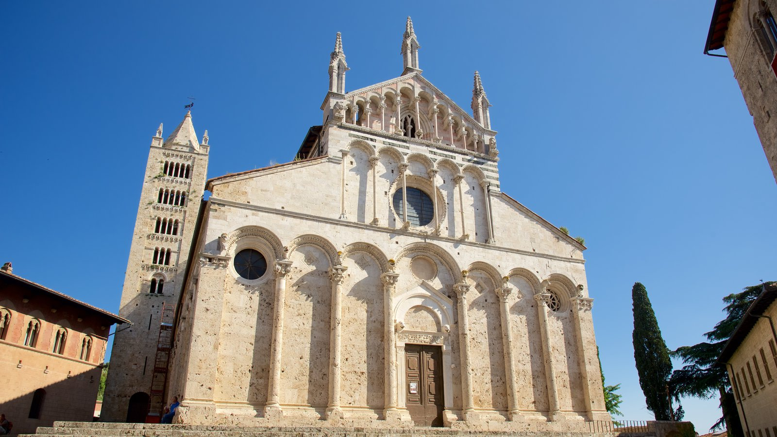 Massa Marittima featuring heritage architecture, a church or cathedral and religious aspects