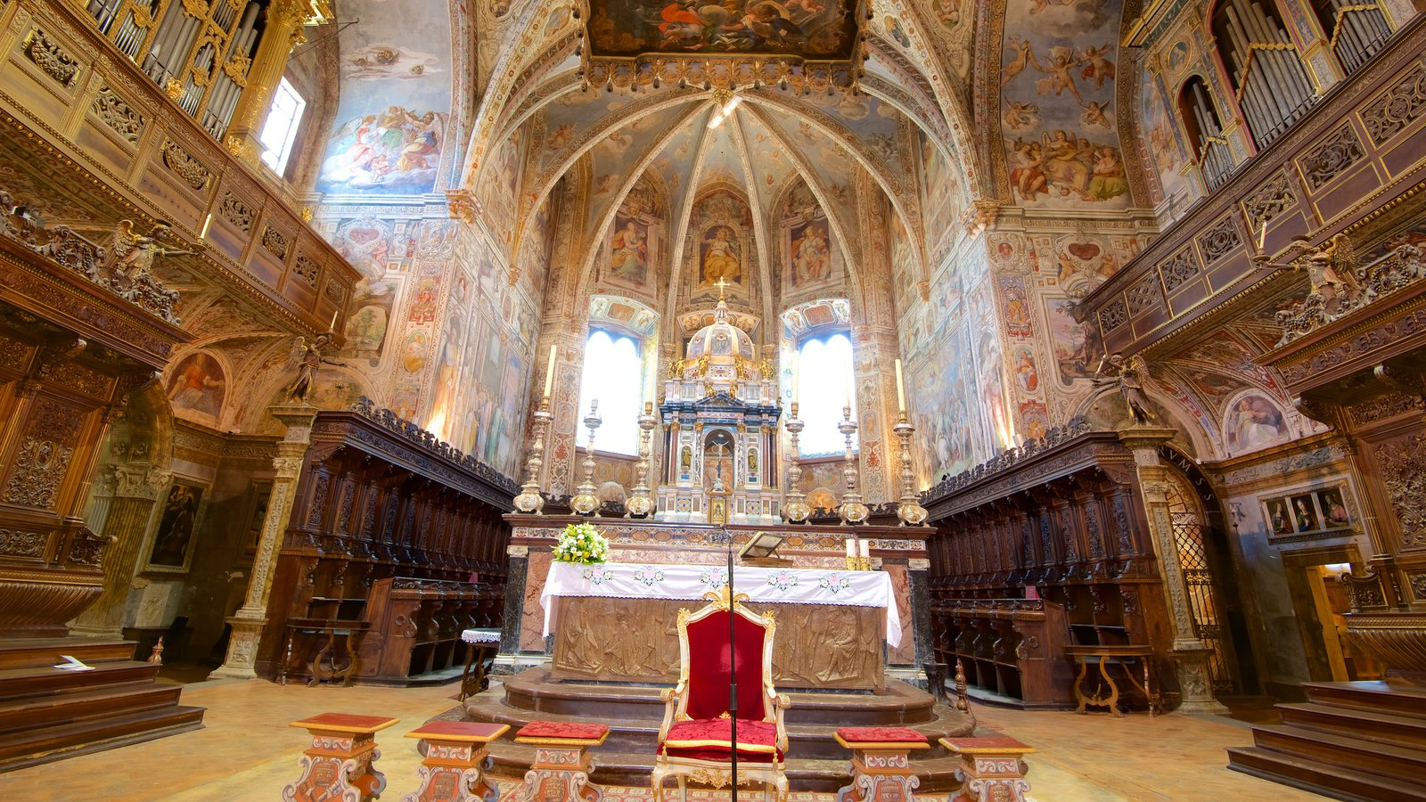 Basilica San Pietro featuring heritage architecture, interior views and a church or cathedral