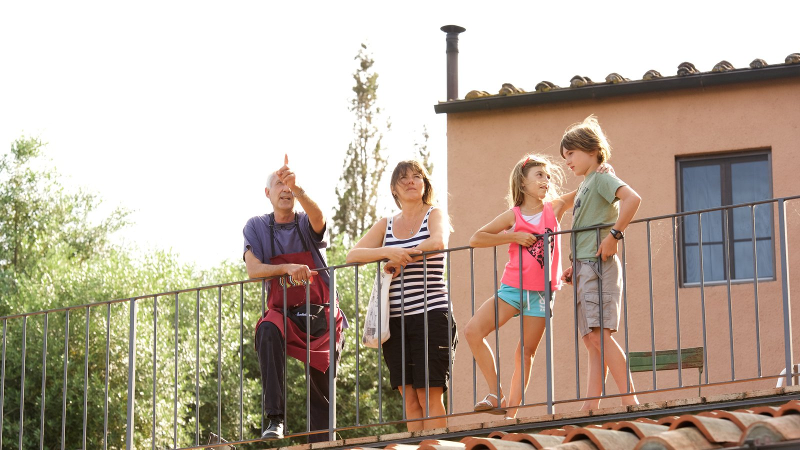 Castellina in Chianti as well as a family