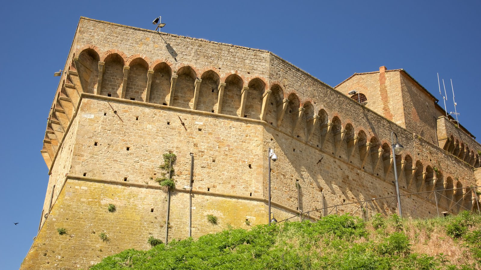 Medici Fortress featuring heritage elements