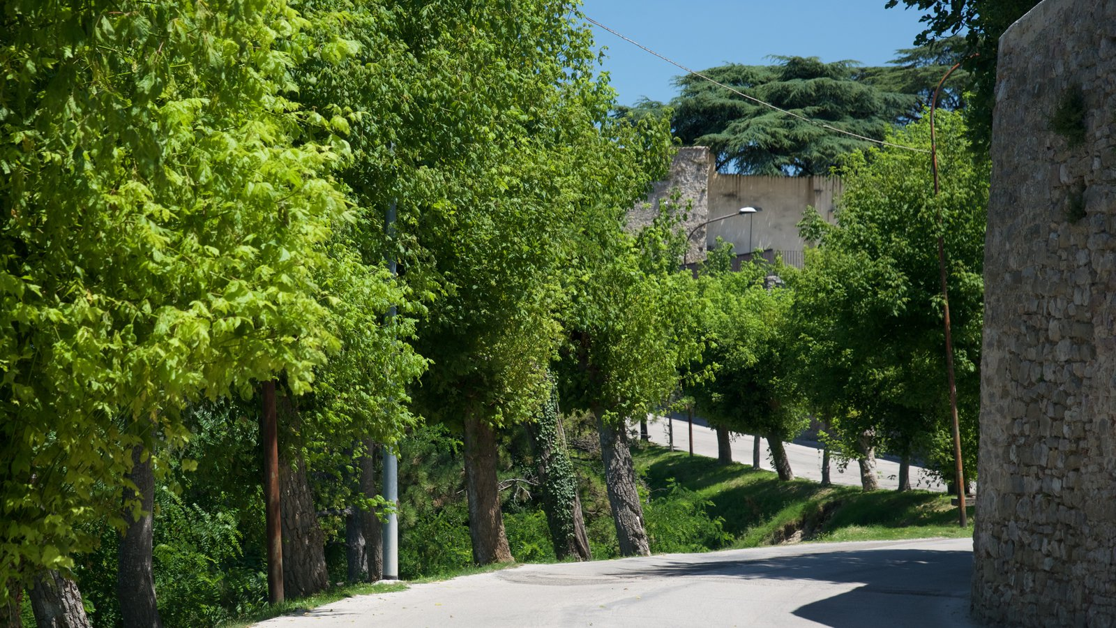 Montefalco which includes a small town or village