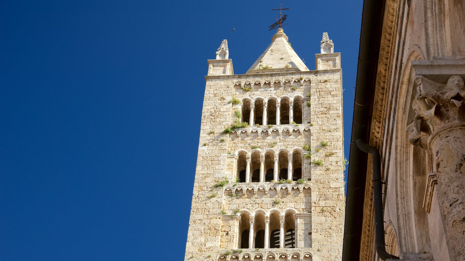 Massa Marittima showing heritage architecture