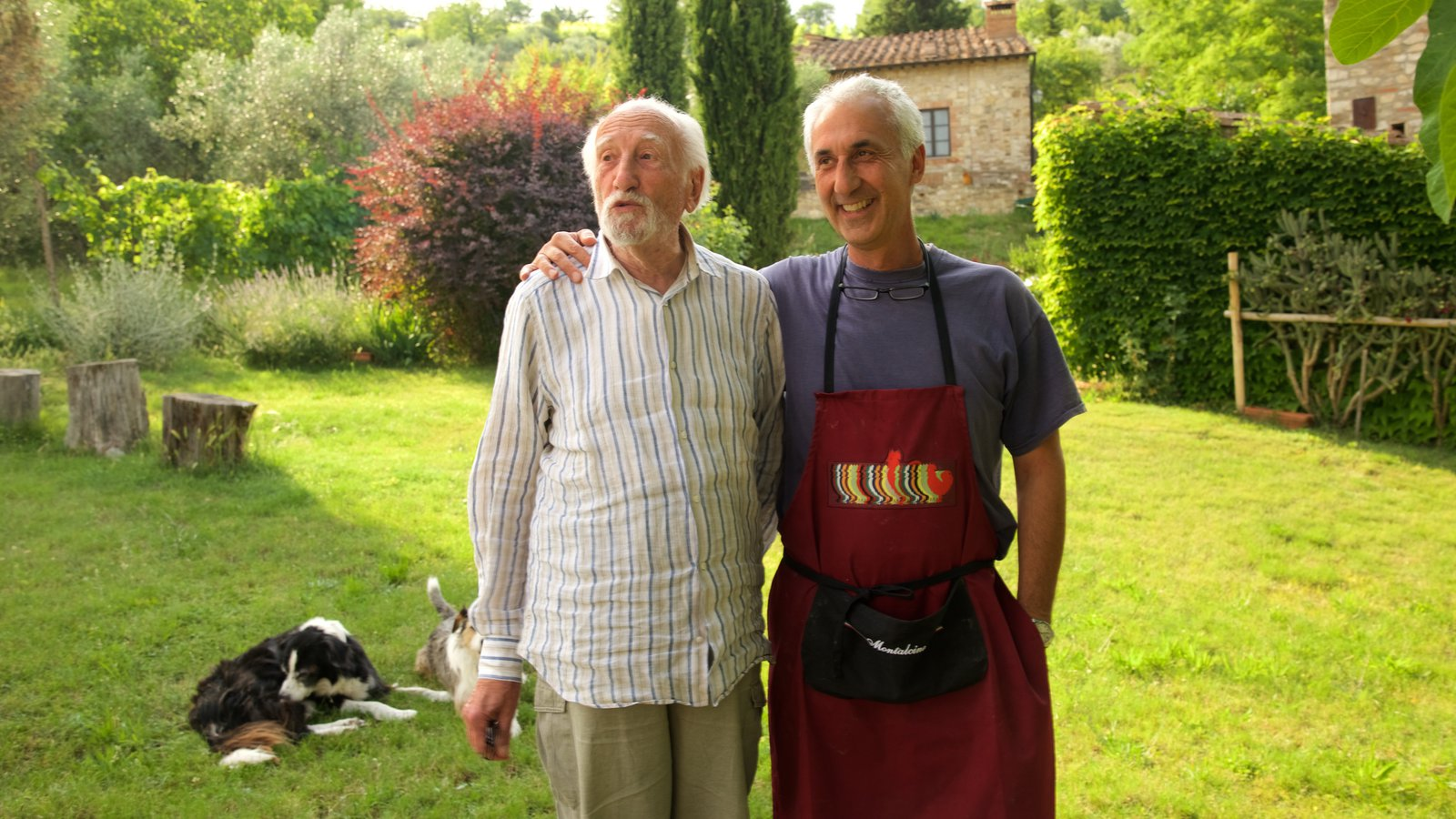 Castellina in Chianti as well as a small group of people