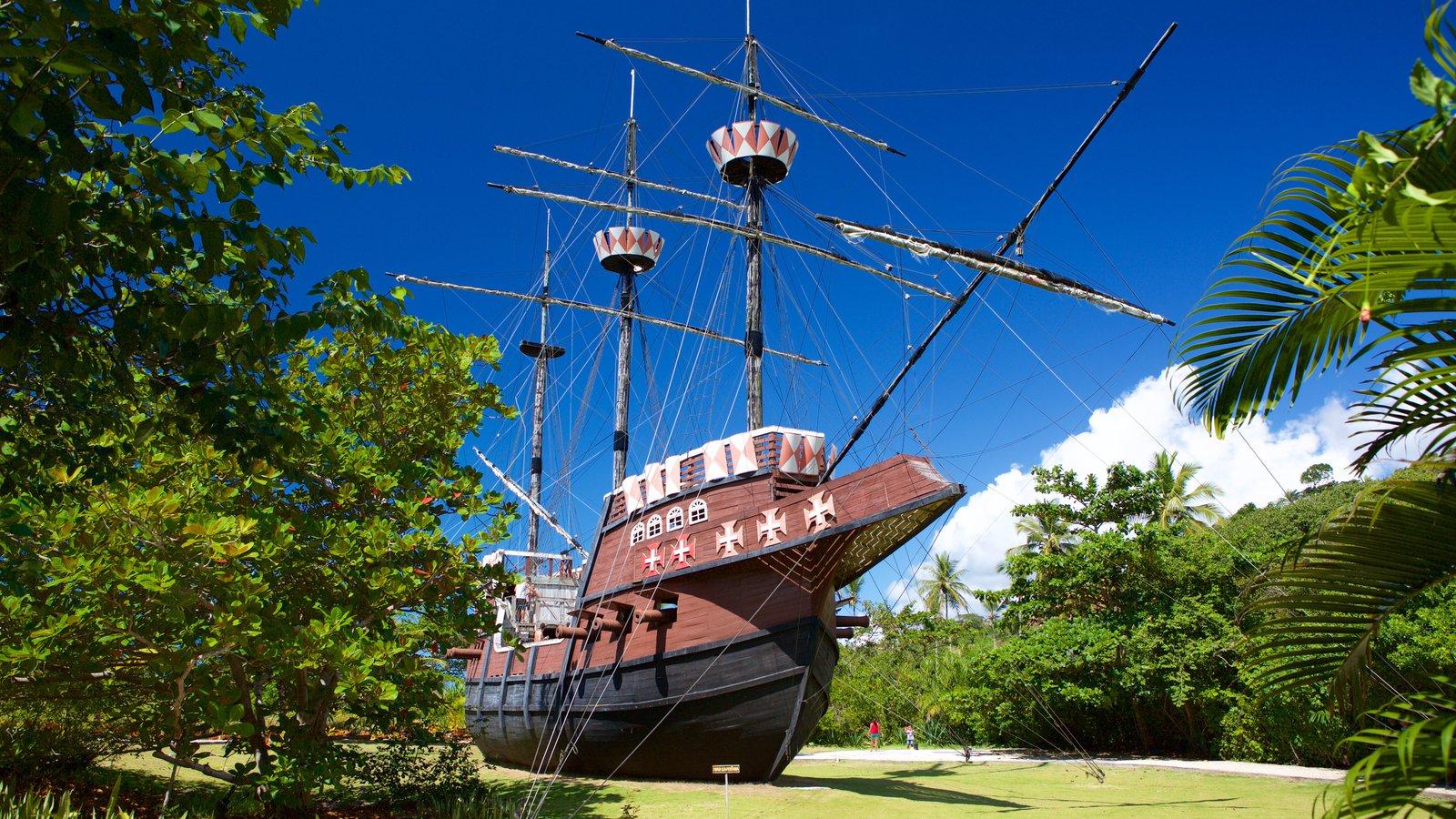 Memorial do Descobrimento do Brasil que inclui arquitetura de patrimônio e elementos de patrimônio