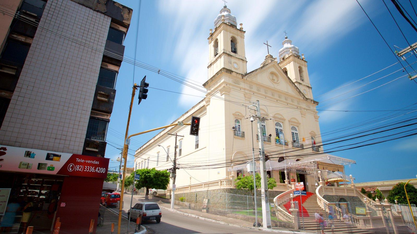 Catedral Metropolitana de Maceió caracterizando uma igreja ou catedral