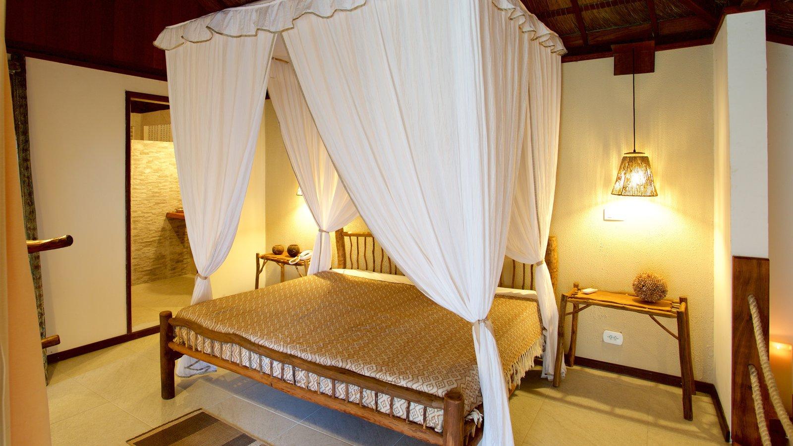 Maceió caracterizando um hotel de luxo ou resort e vistas internas