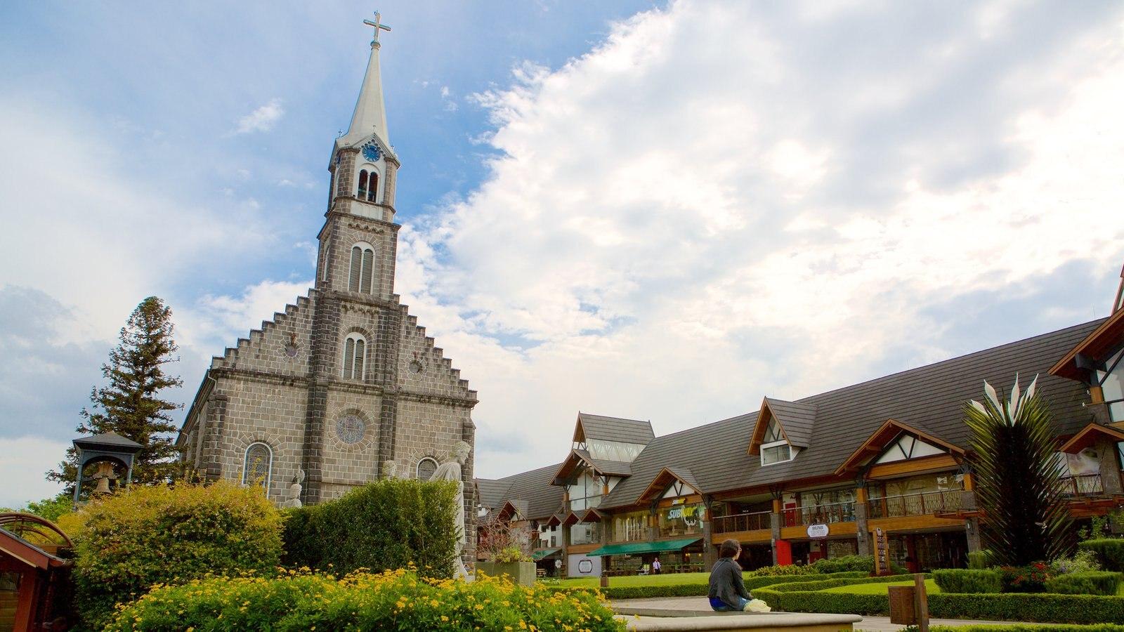 Paróquia de São Pedro Apóstolo que inclui uma igreja ou catedral