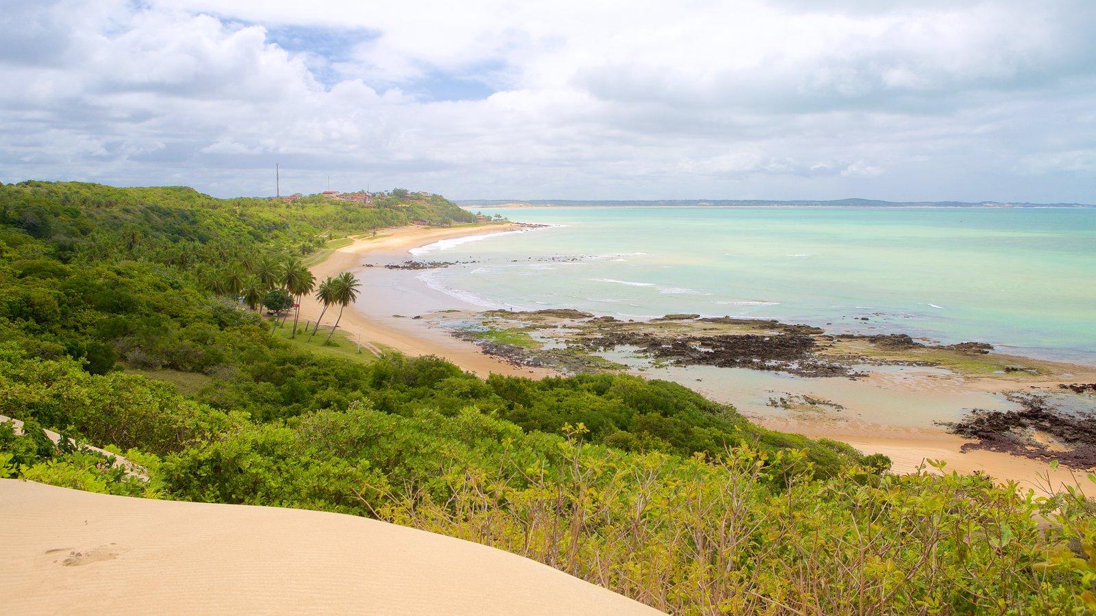Baía Formosa que inclui uma praia e paisagem