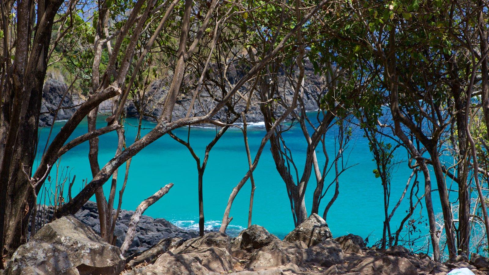 Praia Cacimba do Padre que inclui paisagens litorâneas