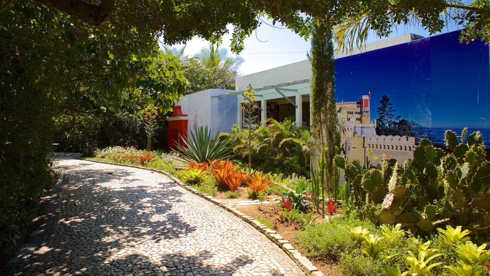 Memorial do Descobrimento do Brasil mostrando um parque e uma casa
