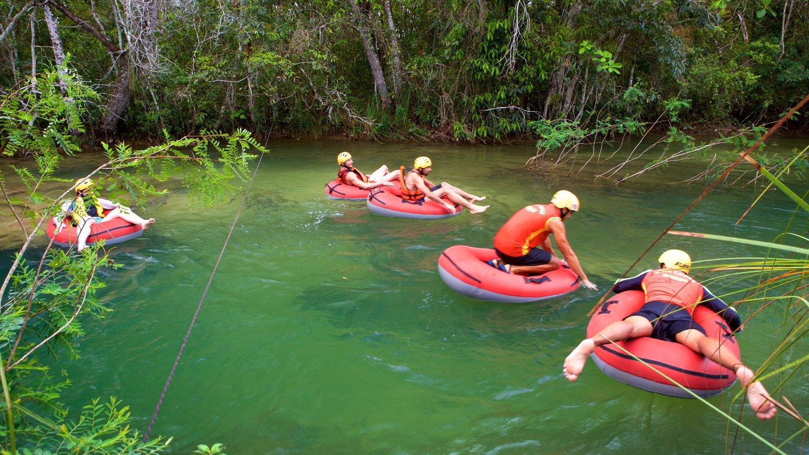 Parque Ecológico Rio Formoso que inclui esportes aquáticos, rafting e um rio ou córrego