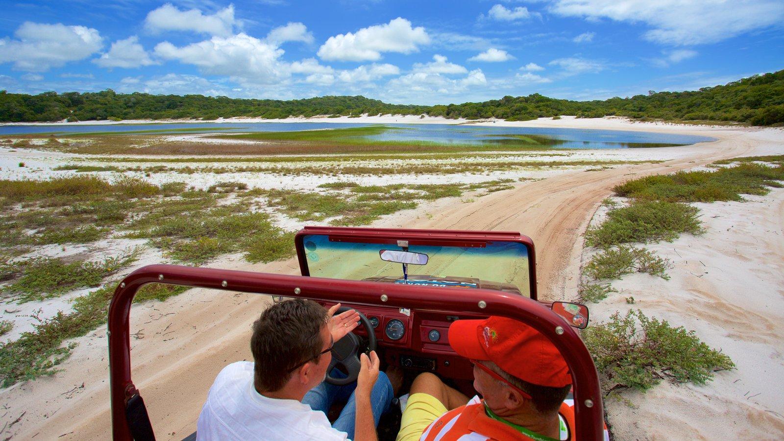 Natal que inclui off-road, uma praia e um lago ou charco