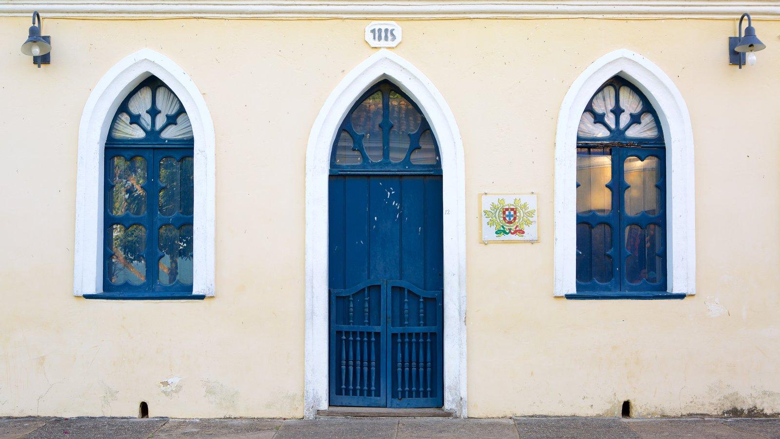 Porto Seguro caracterizando um edifício administrativo