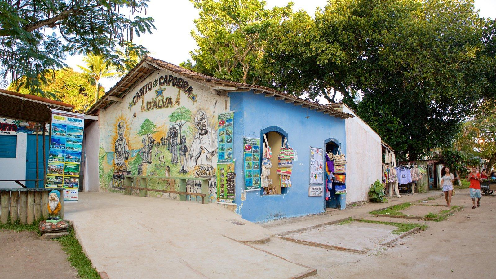 Porto Seguro que inclui arte ao ar livre