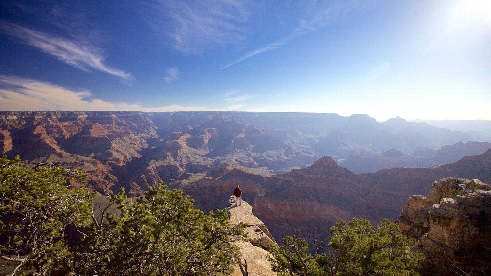 Grand Canyon mostrando paisagens, paisagem e um desfiladeiro ou canyon