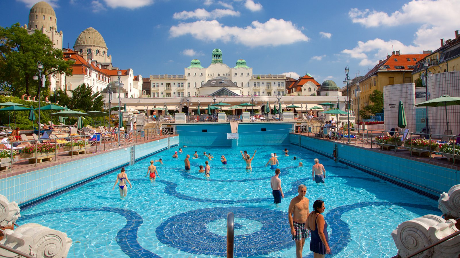 Gellert Thermal Baths And Swimming Pool Showing A Luxury Hotel Or Resort As