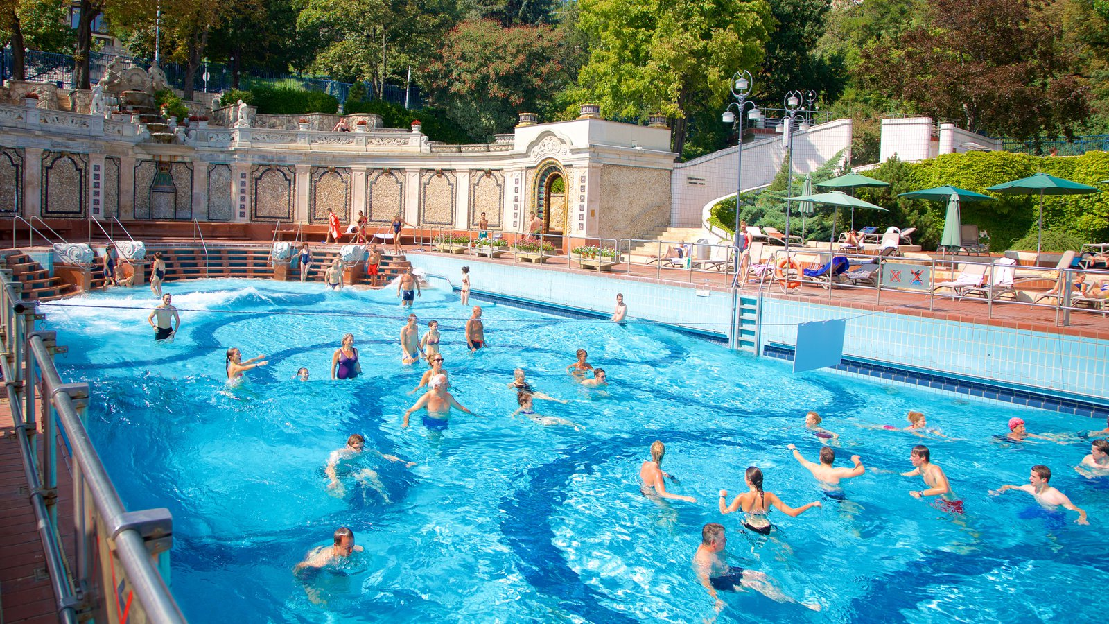 Gellert Thermal Baths And Swimming Pool Which Includes A Day Spa As Well