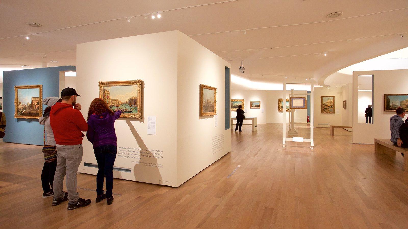 Museo Soumaya Showing Art And Interior Views