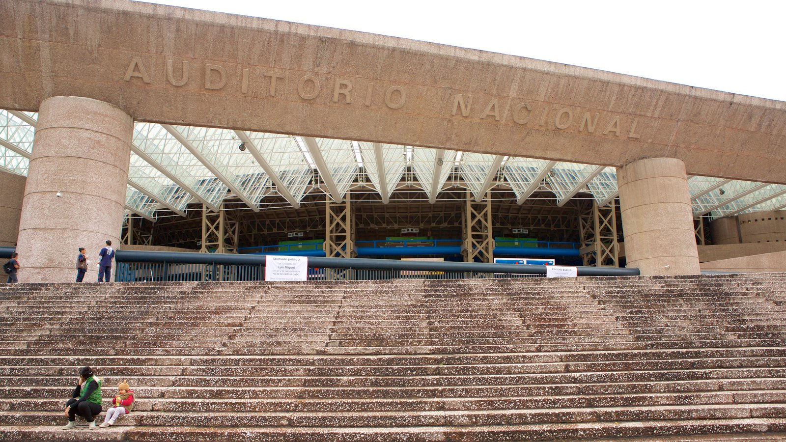 Auditorio Nacional which includes theater scenes and modern architecture