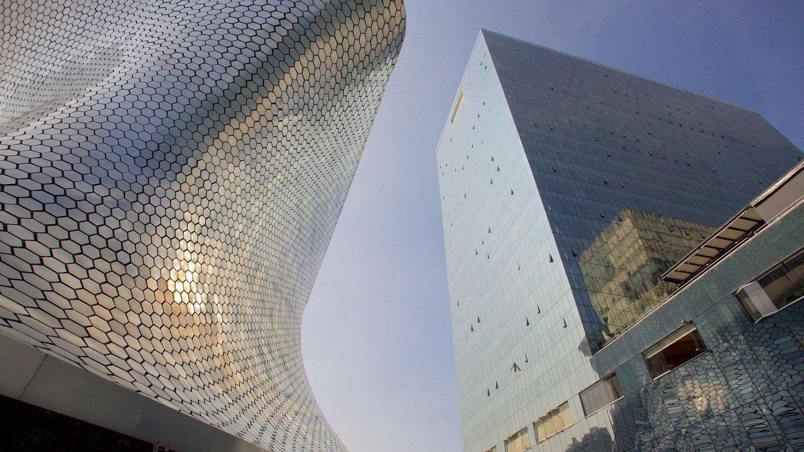 Museo Soumaya featuring modern architecture