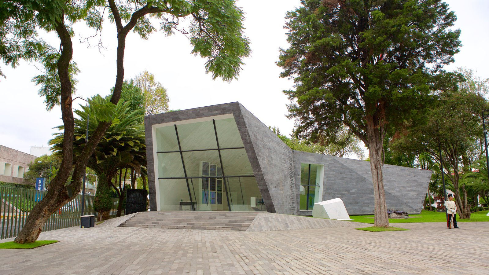 Mexico City featuring a square or plaza and modern architecture